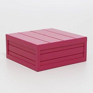 Caixa em MDF - Pink