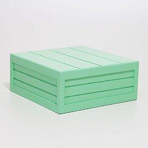Caixa em MDF - Verde Claro