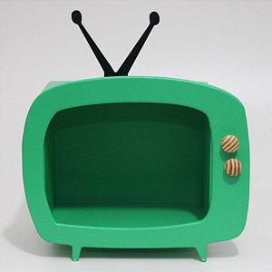 TV em Mdf - Verde escuro