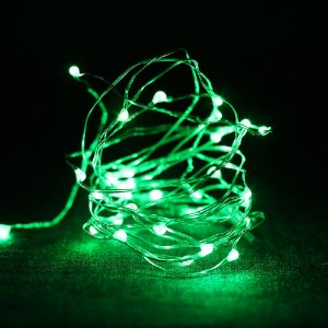 Fio de luz - verde