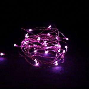 Fio de luz - rosa