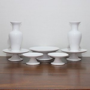 Kit branco - 7 peças