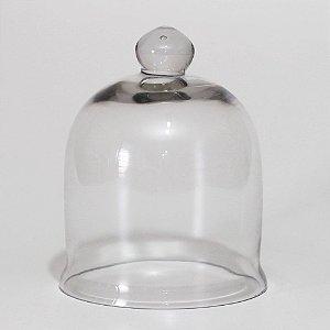 Redoma de vidro larga Pequena
