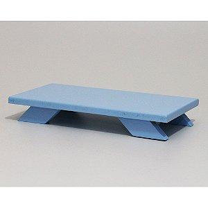 Bandeja Baixa em MDF - Azul