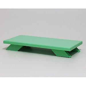 Bandeja Baixa em MDF - Verde Clara