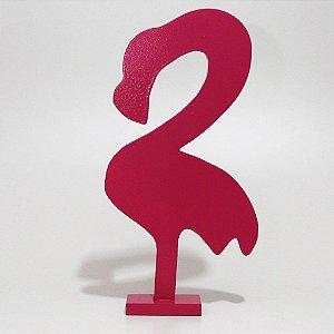 Flamingo de MDF - Pink