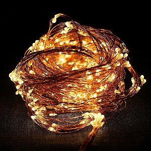 Fio de luz - cobre - Bivolt