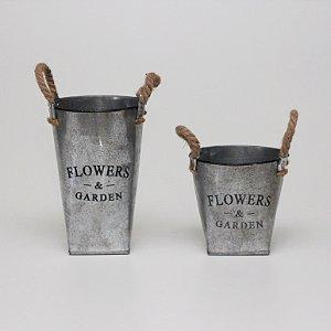 Kit Vasos Flowers & Garden