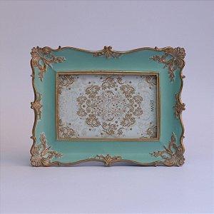 Porta-retrato Clássico Azul