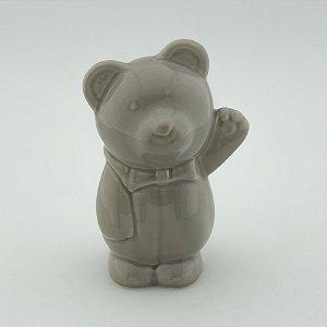 Ursinho de Louça - Cinza