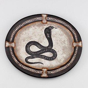 Prato Cerâmica Cobra