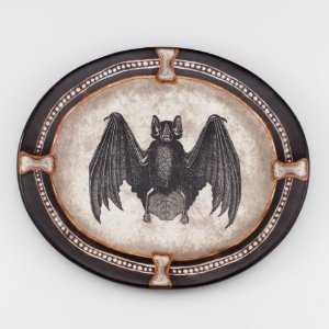 Prato Cerâmica Morcego