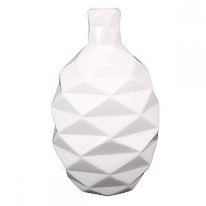 Vaso Lis em Cerâmica - Branco