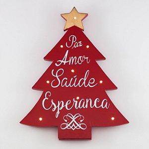 Árvore de Natal com Pontos de Luz