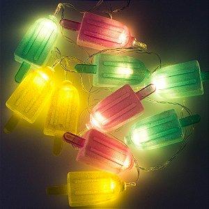 Cordão de Luz Picolés (A pilha)