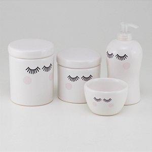 Kit Higiene Branco - Cílios