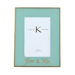 Porta-retrato You & Me - Verde