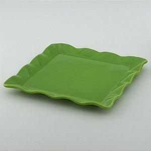 Travessa Babado Quadrada - Verde Folha
