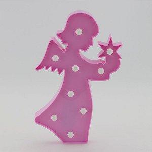 Luminária Anjinha - Rosa