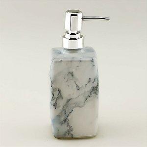 Porta-sabonete líquido Mármore quadrado