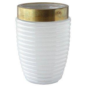 Vaso de vidro Colar Redondo