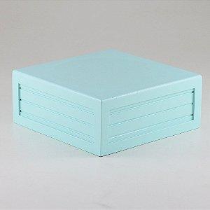 Caixa de altura lisa em MDF - Tiffany