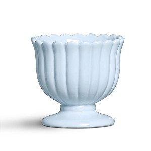 Cachepot médio azul algodão doce