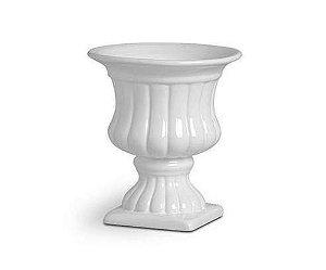 Vaso Romano Branco Pequeno
