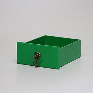Gavetinha em MDF - Verde