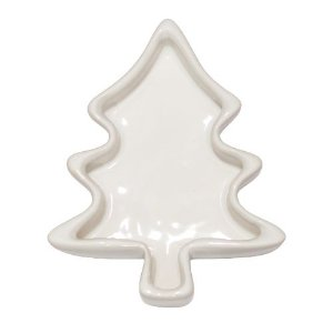 Petisqueira árvore de Natal - branca