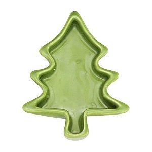 Petisqueira árvore de Natal - verde