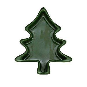 Petisqueira árvore de Natal - verde escuro