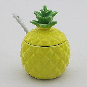 Açucareiro abacaxi
