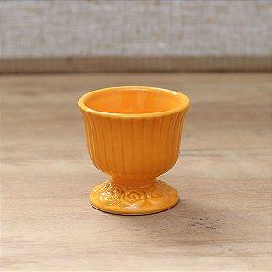 Cachepot canelado laranja P (9x9cm)