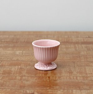 Cachepot canelado rosa P (9x9cm)