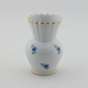 Vaso Retrô Florido - Azul