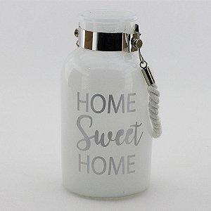 Porta-vela Home Sweet Home (10x19,5cm)