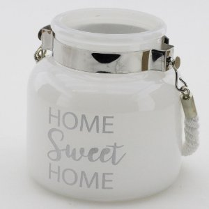 Porta-vela Home Sweet Home (12x12cm)