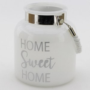 Porta-vela Home Sweet Home (14x16cm)