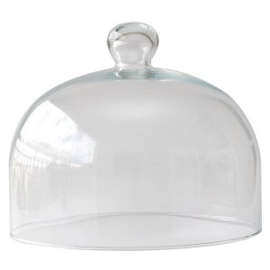 Redoma de vidro 20x24,5cm