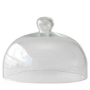 Redoma de vidro 17x24,5cm