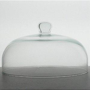 Redoma de vidro 18x31cm