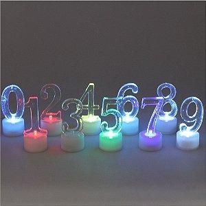 Kit números de Led - branco