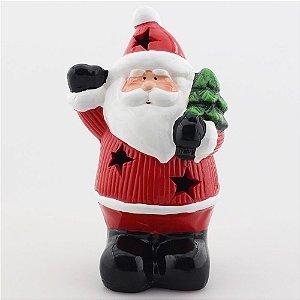 Papai Noel com árvore