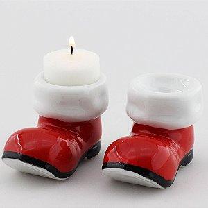 Par de botas do Papai Noel