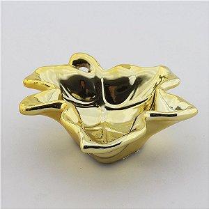 Petisqueira Folha - Dourada