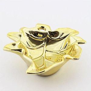 Petisqueira Folha - Dourada grande