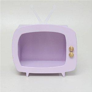 TV em MDF - Lilás