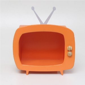 TV em MDF - Abóbora