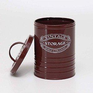 Lata Vintage Chocolate - Grande